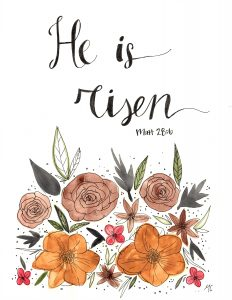 He Is Risen Painting